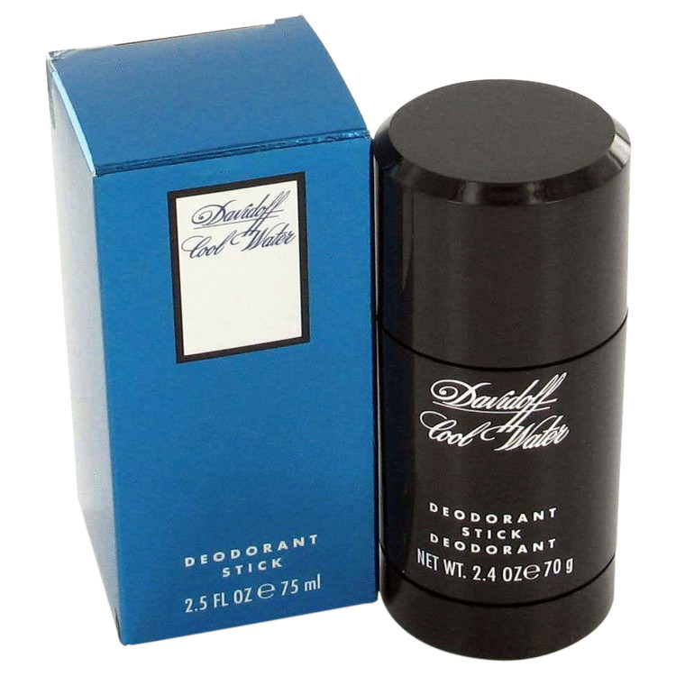 Cool Water By Davidoff 2.5 oz Deodorant Stick (Extremely Mild) Men