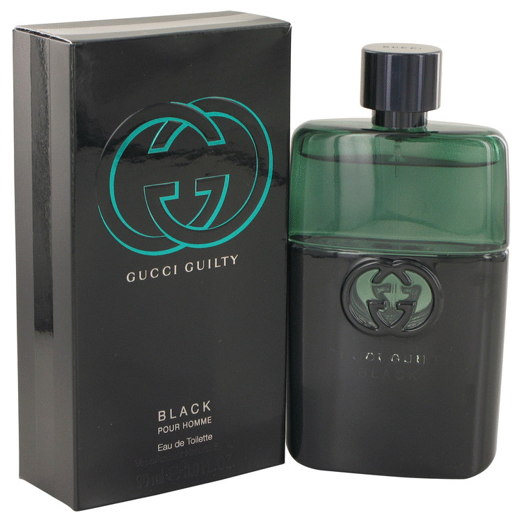 Gucci Guilty Black by Gucci EDT Spray 3 oz Caballero