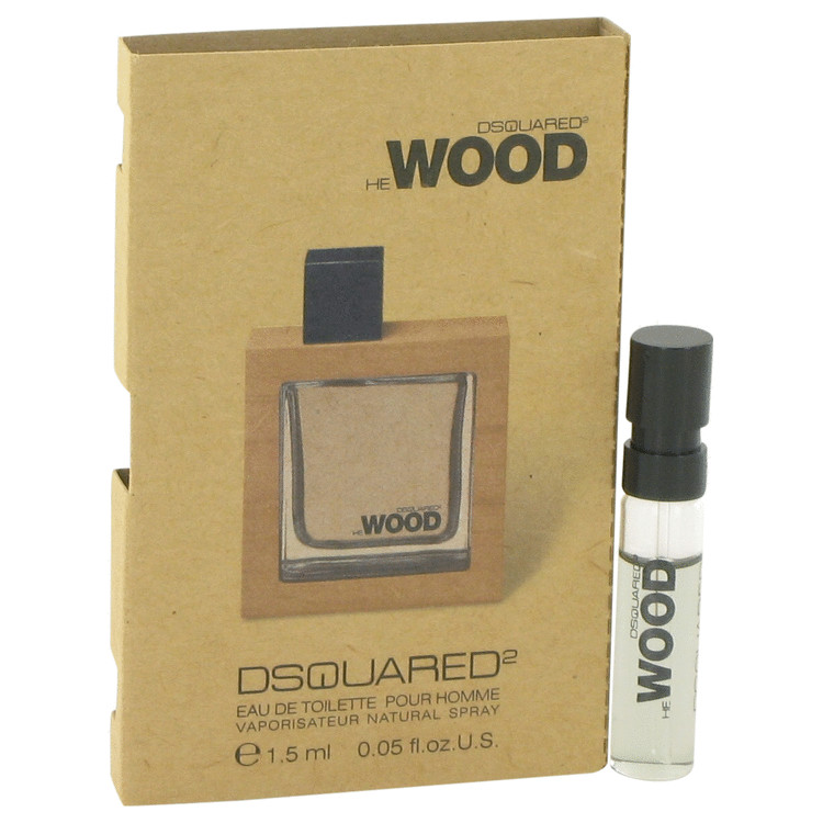 He Wood By Dsquared2 0.05 oz Vial (sample) Men