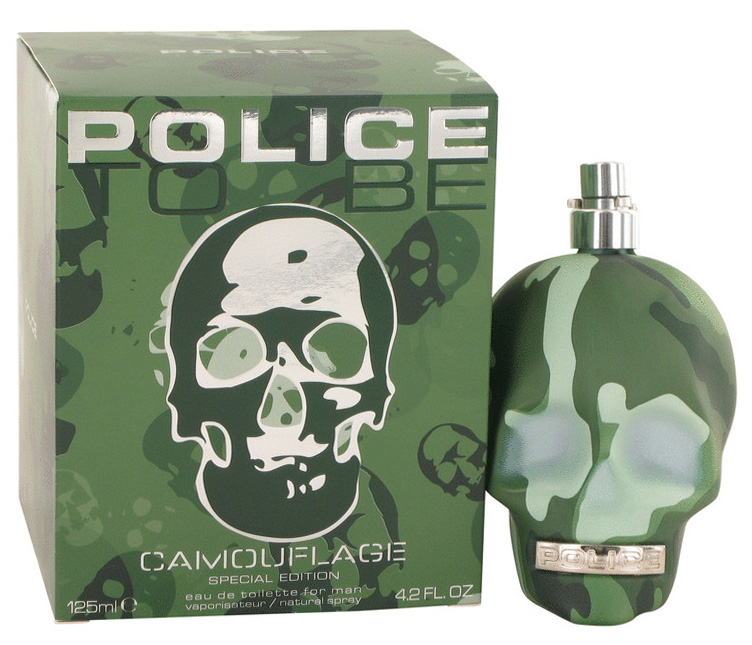 Police To Be Camouflage 4.2 oz EDT Spray (Special Edition) Caballero