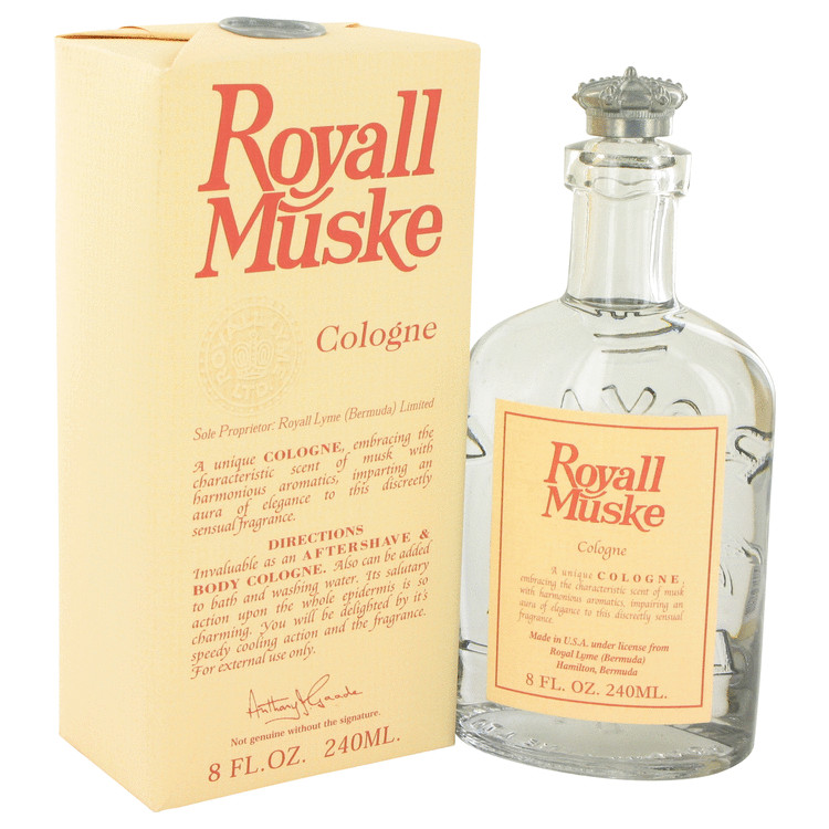 ROYALL MUSKE by Royall Fragrances All Purpose Lotion / Cologne 8 oz Caballero